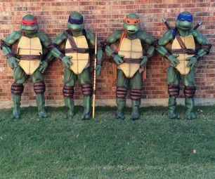 Teenage Mutant Ninja Turtles | DIY | Ninja, Teenage Mutant Ninja Turtles, Turtle  Costumes