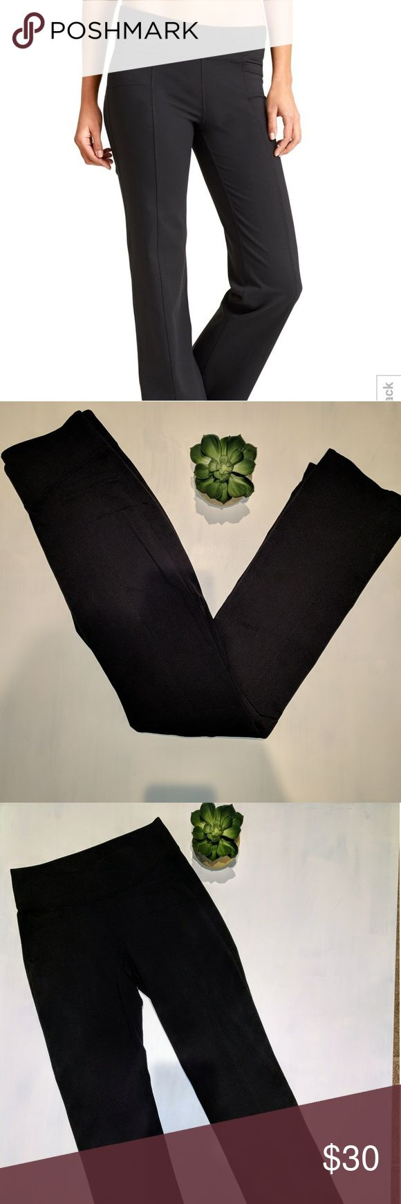 """Athleta Metro Classic Pant XS Perfect condition, no signs of damage.   Waist =25"""", Inseam = 30.5"""".  Online description: The yoga-pant-comfy METRO style made to give your jeans a day off with handy pockets, sweet seam lines and super stretchy fabric that supports your love of adventure. INSPIRED FOR: adventure,To Fro, workout, studio. Ultra-comfortable wide waistband. Rivals the ease of your favorite-fitting boyfriend jeans FIT TO FLATTER. Trouser-inspired seam lines are in all the right…"""