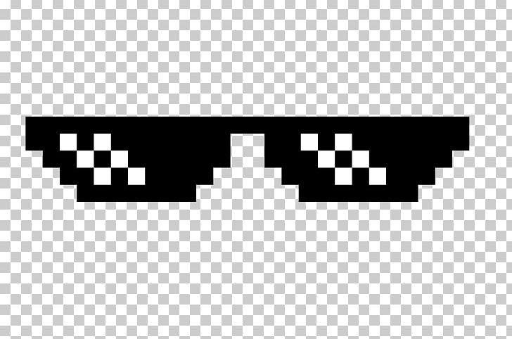 Sunglasses Thug Life Png 8bit Color Angle Black Black And White Brand Thug Life Anime Faces Expressions Thug