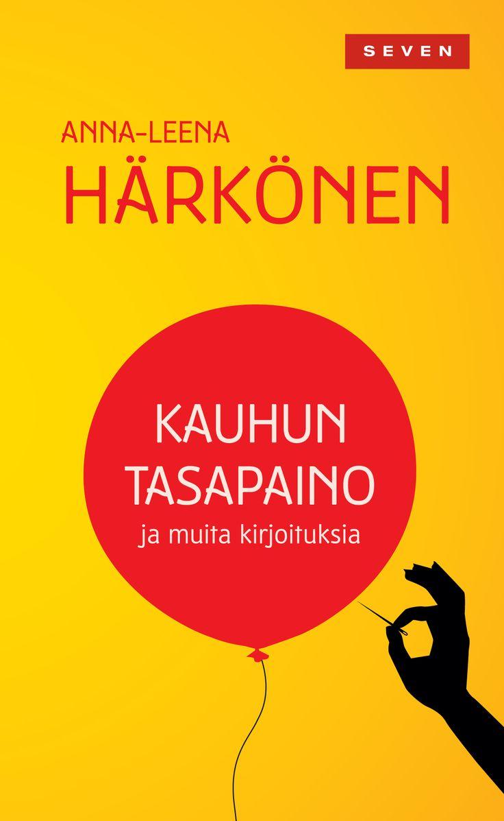 Title: Kauhun tasapaino | Author: Anna-Leena Härkönen | Designer: Kirsti Maula