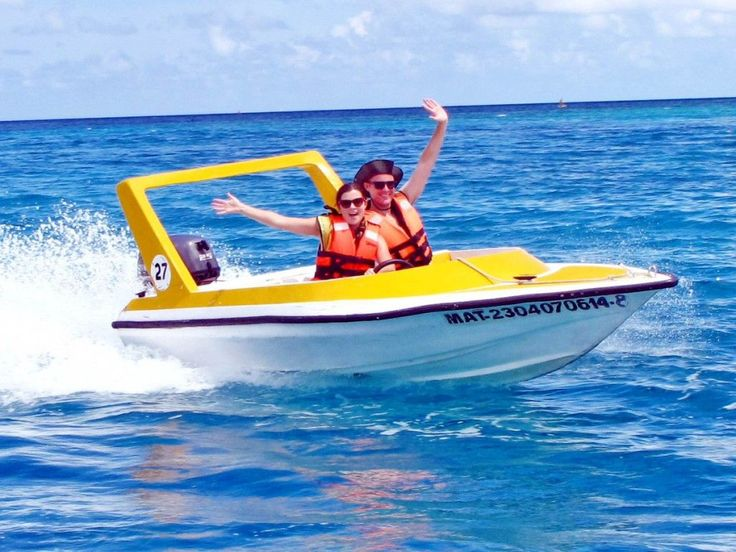 Going nuts in Cozumel, Mexico! Dave and I go scuba diving, speed boat driving and ATV riding. Check out our GoPro video!