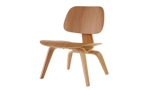 Plywood o LCW chair, by Charles and Ray Eames, 1945-46.