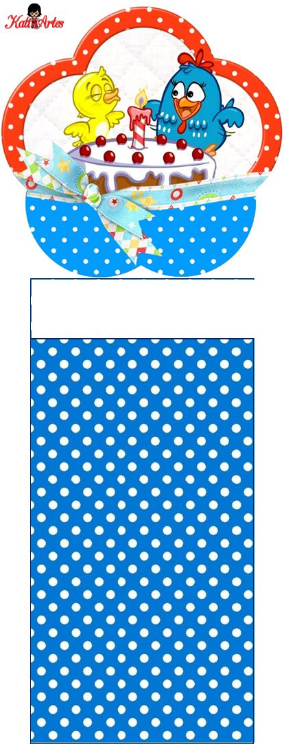 Free Printable Lottie Dottie Chicken Original Nuggets Wrappers.