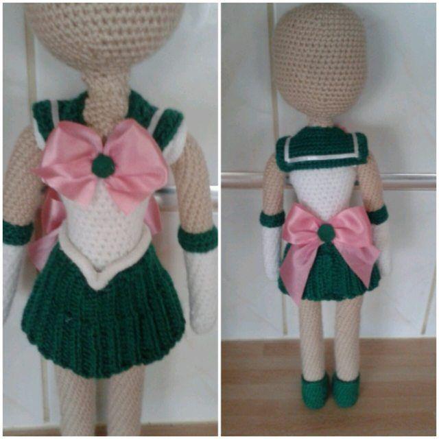 Amigurumi Anime Doll Pattern : 25+ best ideas about Sailor moon crochet on Pinterest ...