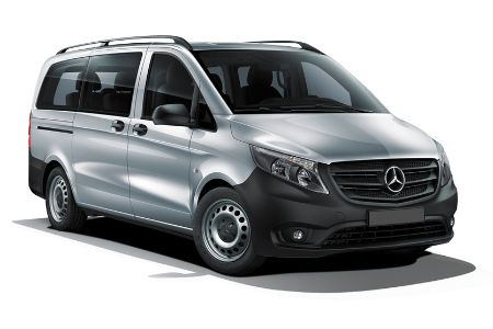 possible van to be used for groups mercedes vito combi 9. Black Bedroom Furniture Sets. Home Design Ideas