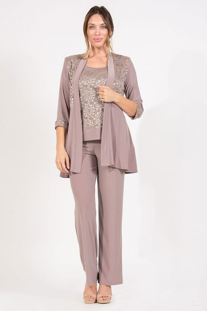 e72fe4648a2 R M Richards Mother of the Bride Formal Pant Suit in 2019