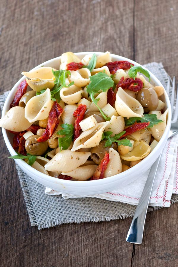 A savory cold pasta salad brimming with beloved Mediterranean flavors! Simply add a generous scoopful of our Veneto Asiago Antipasto to your your favorite pasta shape with a drizzle of dressing to create a stunning picnic pasta salad.