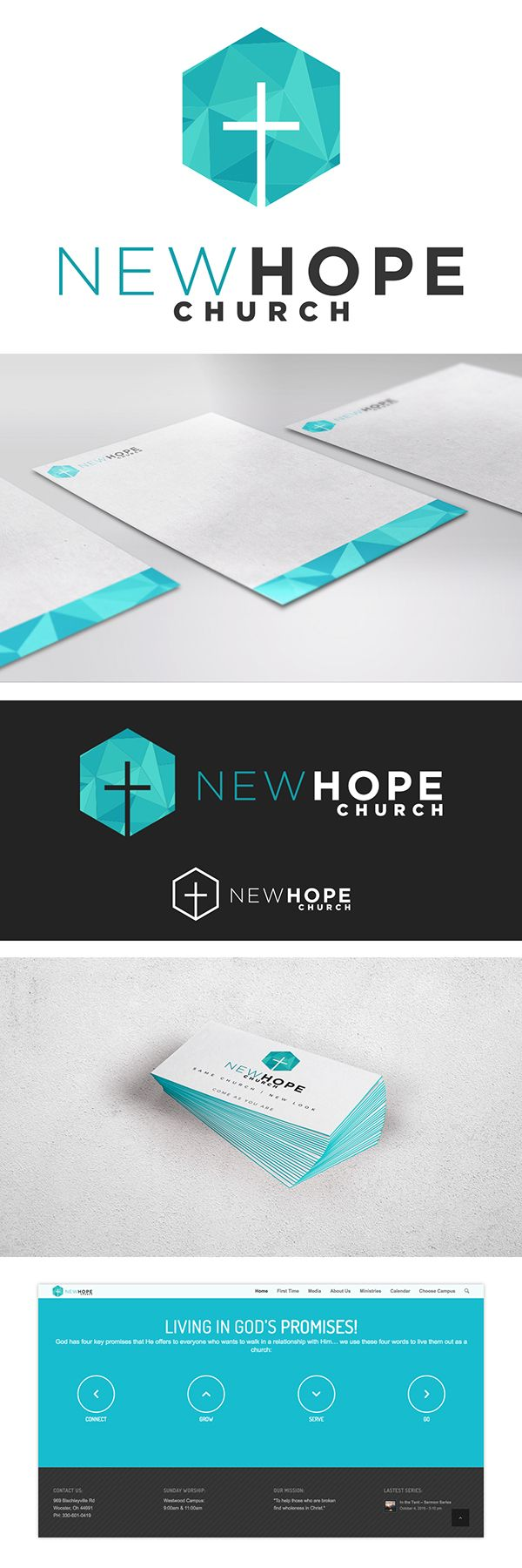 New Hope Church Logo done by 320 Creative, check us out at 320creative.org or ww...