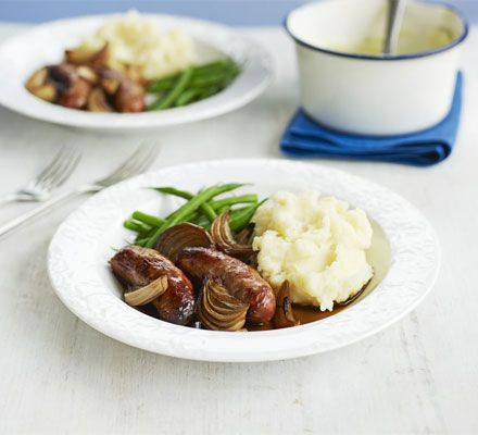A simple idea for homemade gravy turns this family supper into something far more interesting