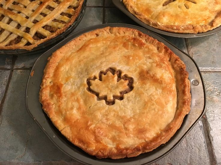 Tourtières (French Canadian Meat Pie)