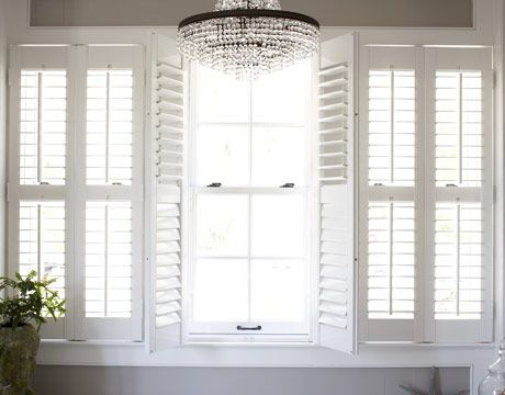 Lounge and bedroom shutters