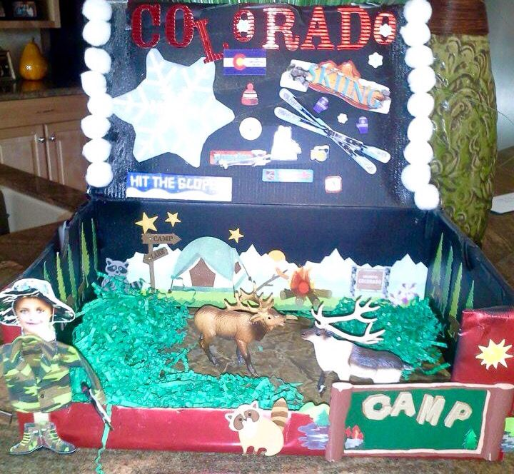35 Best Kids School Projects Images On Pinterest United