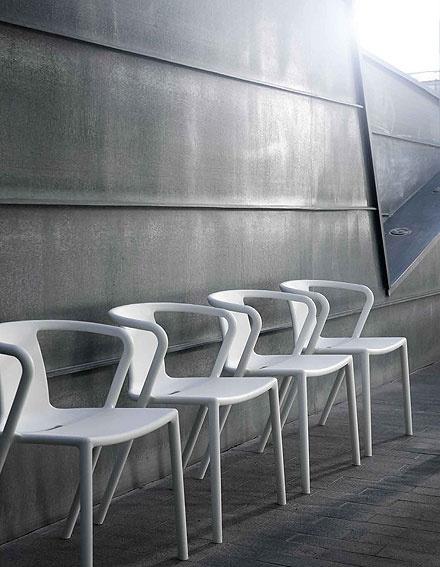 Muebles Portobellostreet.es: Sillón Blanco Glad - Sillas y Sillones Jardín - Muebles de Jardín