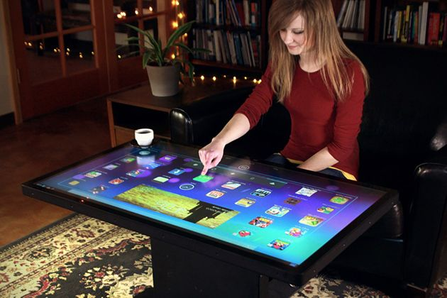 Multitouch Coffee Tables from Ideum | HiConsumption