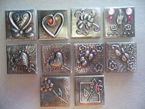 aluminum can crafts 17 best images about metal embossing on pewter 1037