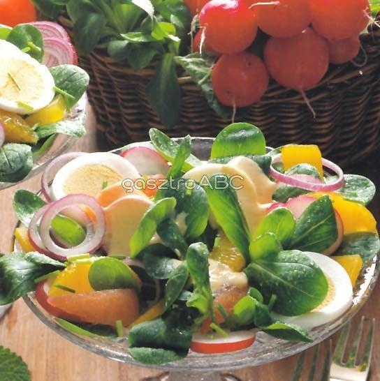 Narancsos galambbegysaláta | Receptek | gasztroABC