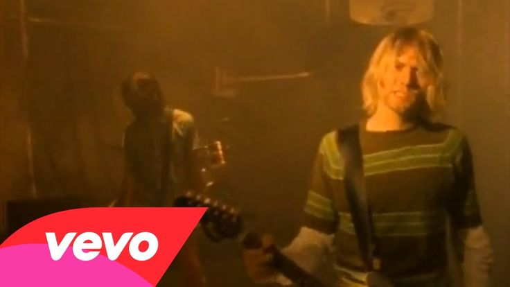 """Nirvana - Smells Like Teen Spirit (+playlist)--Ah, one of the greatest of the greats. The label """"grunge"""" was slapped on so many bands then...but to me, Nirvana is in a class by themselves--completely. Genius. RIP Kurt Cobain."""