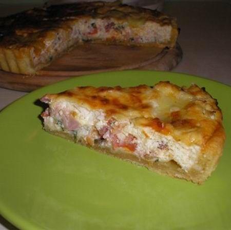 Sonkás-kolbászos pite Recept képpel -   Mindmegette.hu - Receptek