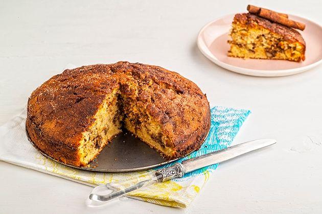 Εύκολο και γρήγορο κέικ κανέλα