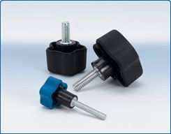 DimcoGray Soft Feel Knobs and Handles are integral components in mechanical controls, outdoor power equipment, and industrial equipment.
