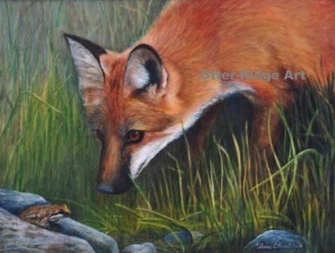 Dinner?Deb Otterstein, Wildlife Art, God Gift