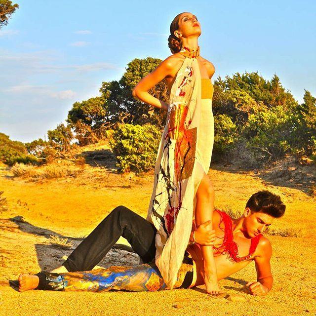 #fashion#style#handmade#paintung#madeinitaly#sardinya#moda#model#sand#linen#juta#picoftheday#laboratoriostilistico#