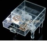 Custom acrylic display boxes wholesale plexiglass display stands jewellery display box JDK-176