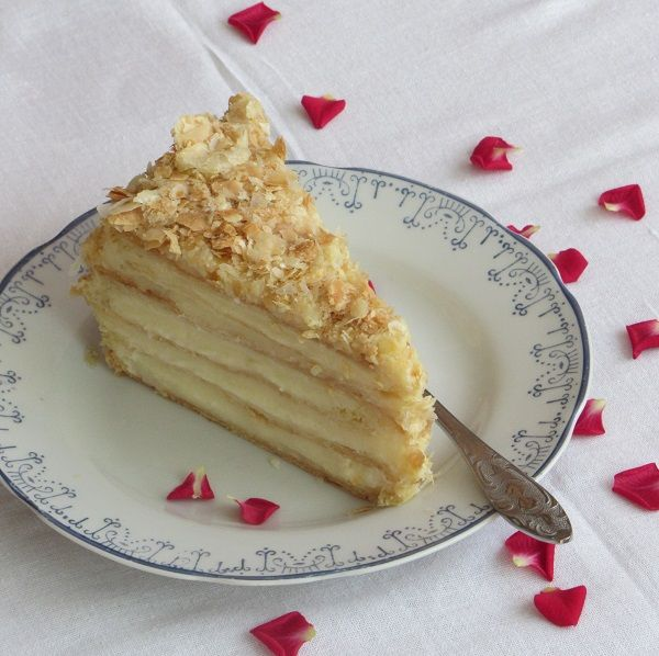 торта наполеон домашен яйчен крем