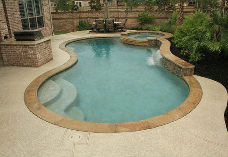 17 best ideas about natural backyard pools on pinterest natural pools natural swimming pools - Free form swimming pool designs ...