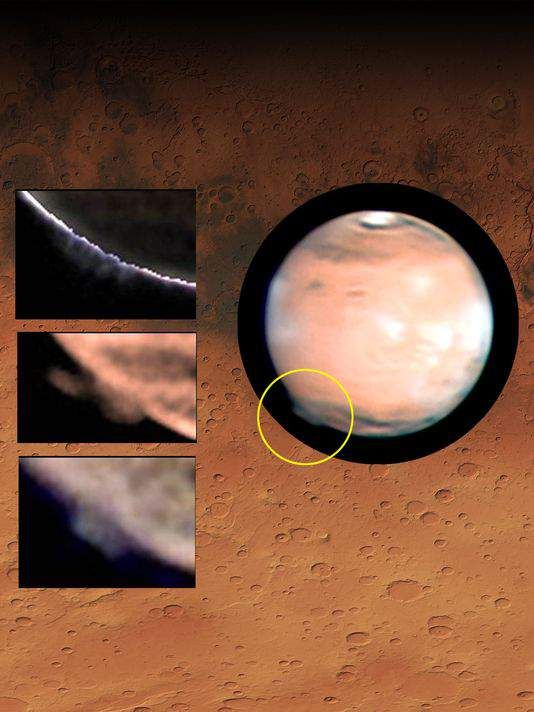 Huh the mysterious mars plume and the various shapes it has assumed