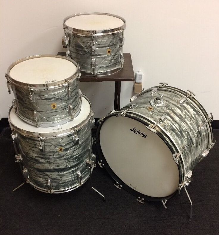Pearl Drums Usa : vintage ludwig sky blue pearl drum set made in usa common shopping ~ Vivirlamusica.com Haus und Dekorationen