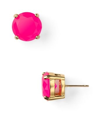gumdrop studsPink Studs, Gumdrop Studs, Studs Earrings, Hot Pink, Jewelry, New York, Accessories, Neon Pink, Kate Spade