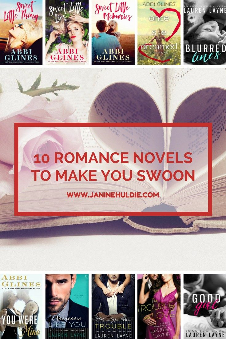 10 Romance Novels to Make You Swoon