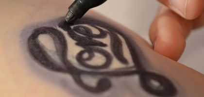 27 best images about sharpie tattoos on pinterest for Fake tattoo hairspray