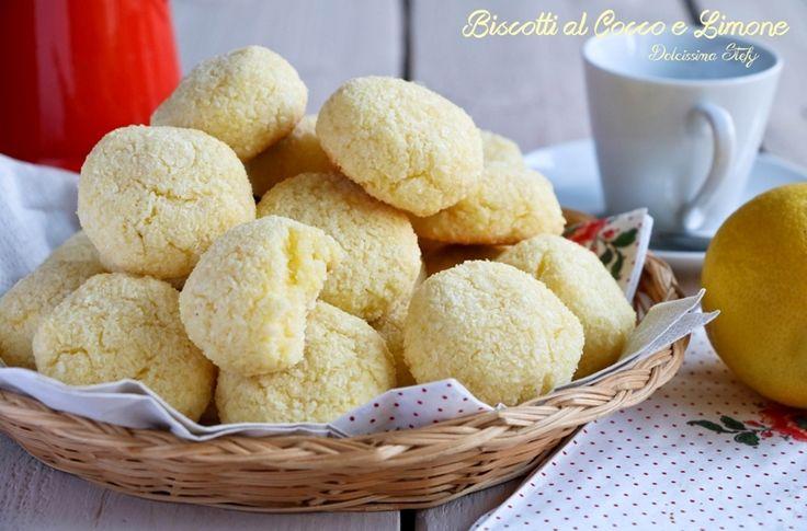 Biscotti Cocco e Limone