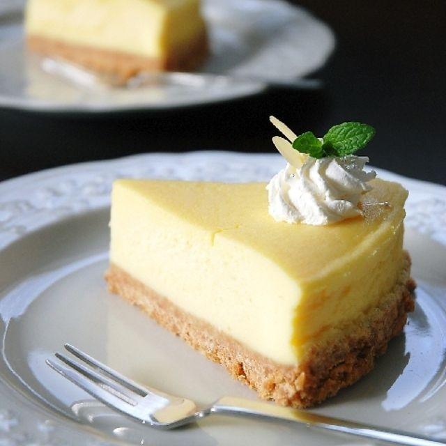 簡単チーズケーキ