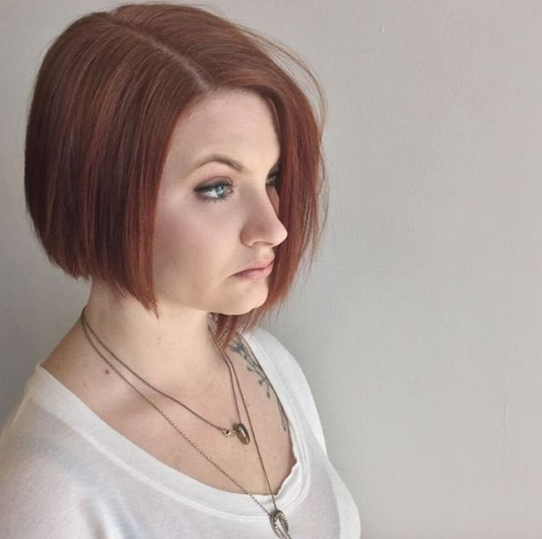 Cinnamon hair color by Brian Hickman- This with an undercut?