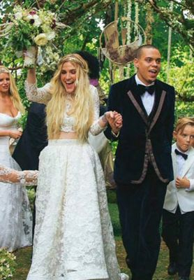 Ashlee Simpson married Evan Ross on August 30th, 2014. The ...