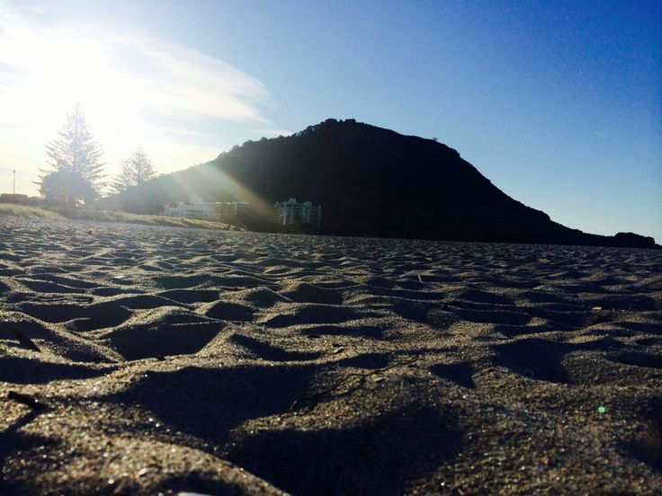 Sandy beaches...