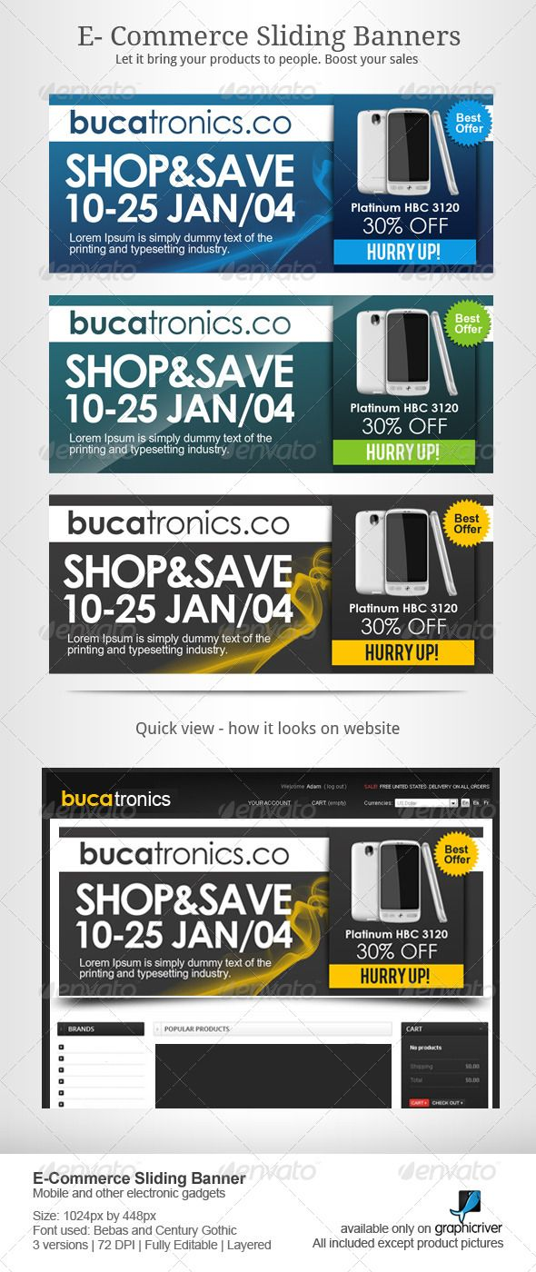 Mobiles and Electronics Sales Sliders Template PSD. Download here: http://graphicriver.net/item/mobiles-and-electronics-sales-sliders/7497210?ref=ksioks
