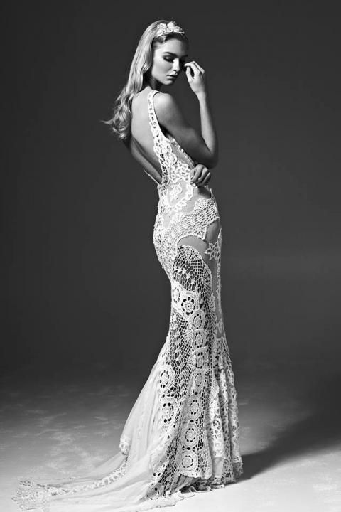 2014 Bridal Trends: The New Crochet / Jane Hill Gown