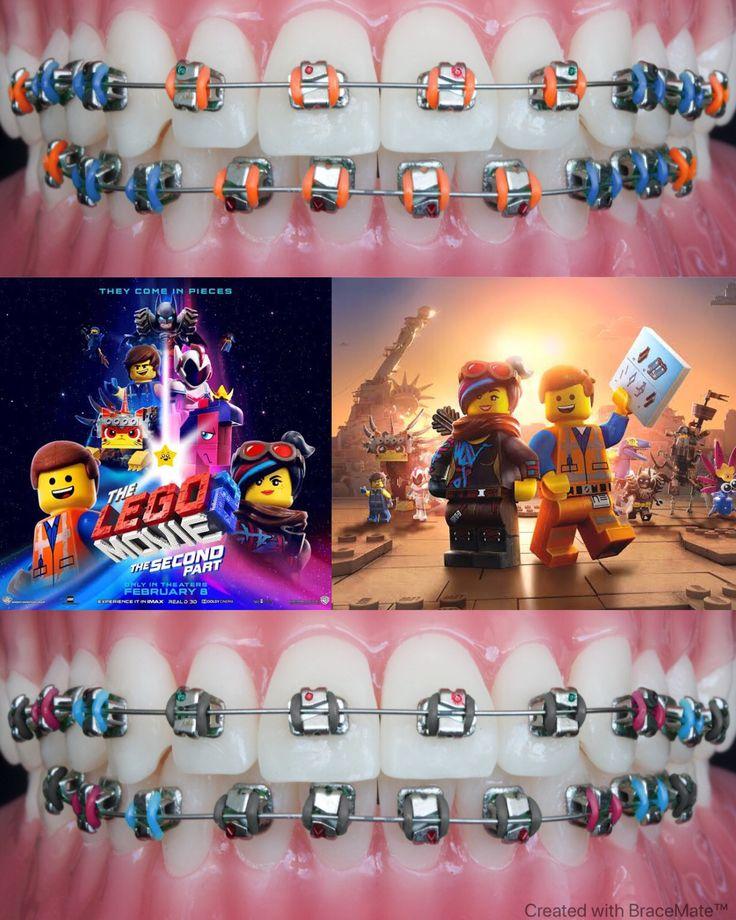 The LEGO movie 2 braces colours