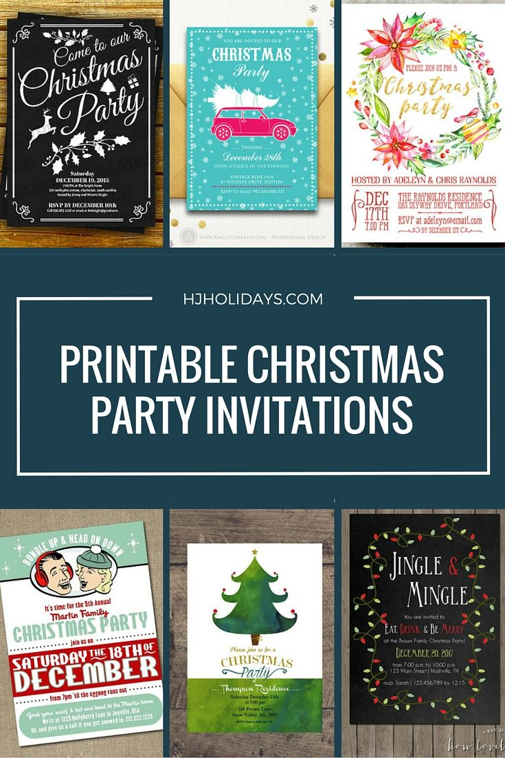 best images about invite flyers print ideas printable christmas holiday party invitations