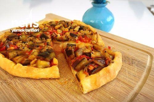 Nefis Patlıcan Pizza Tarifi
