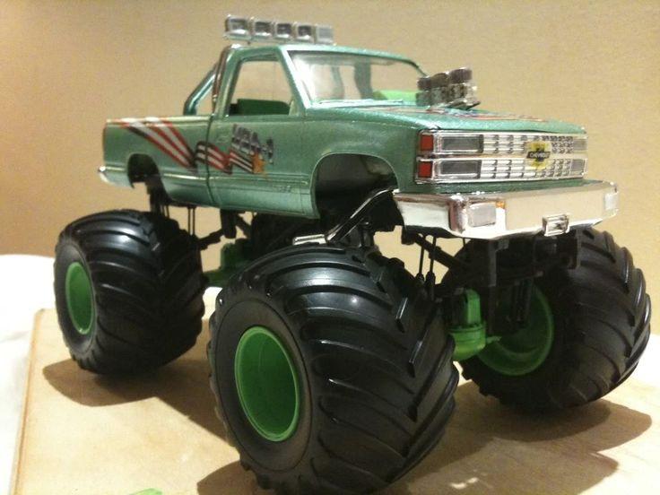 Monster trucks | Monster truck USA-1 ( customisé )