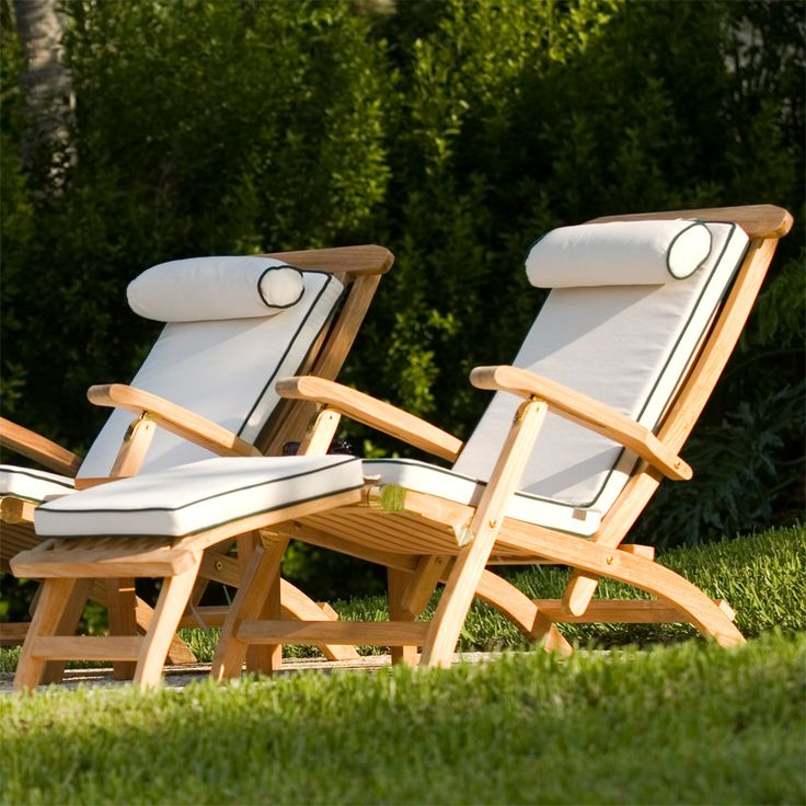 Barbuda classic teak steamer chair rated best over for Best rated patio furniture