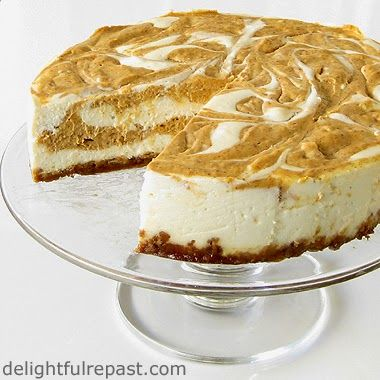 Slowcooker Pumpkin Swirl Cheesecake