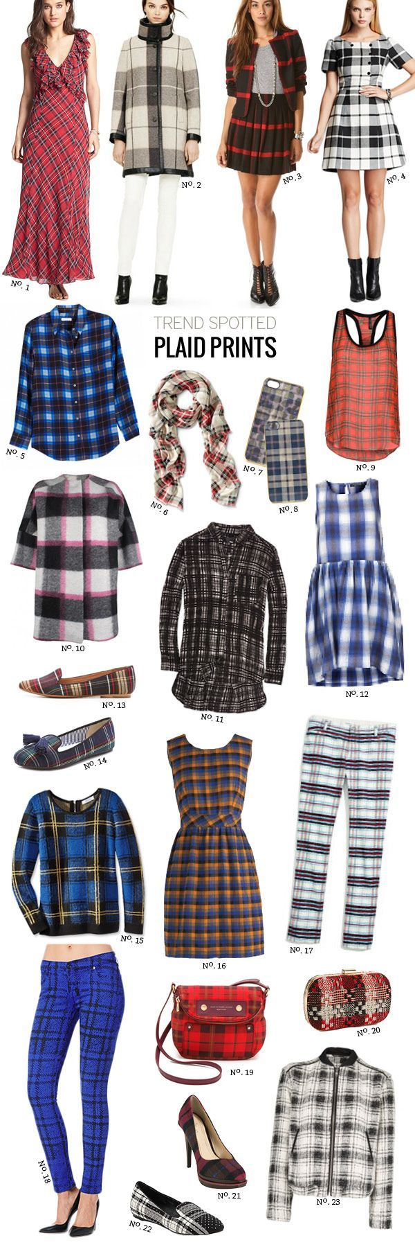 Trends Spotted At New York Fashion Week For Fall Winter: // Trend Spotted: Plaid For Fall By Modern Eve