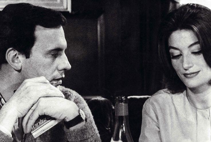 Jean-Louis Trintignant et Anouk Aimée en 1966 dans Un homme et une femme de Claude Lelouch. © Kobal / AFP