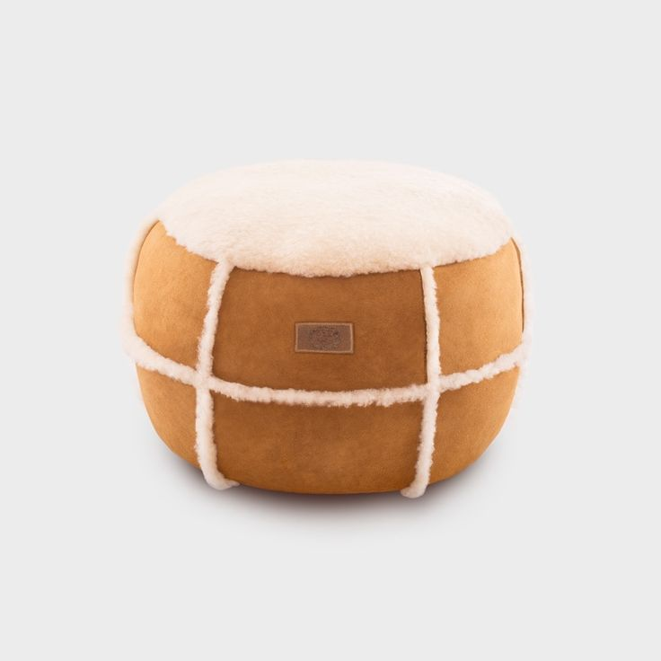 Buy Sheepskin Ottoman from TheWoolRoom.com.au. Discover other alpaca, cashmere, merino wool & possum clothing | The Wool Room: Merino Wool & Natural Fibre Store
